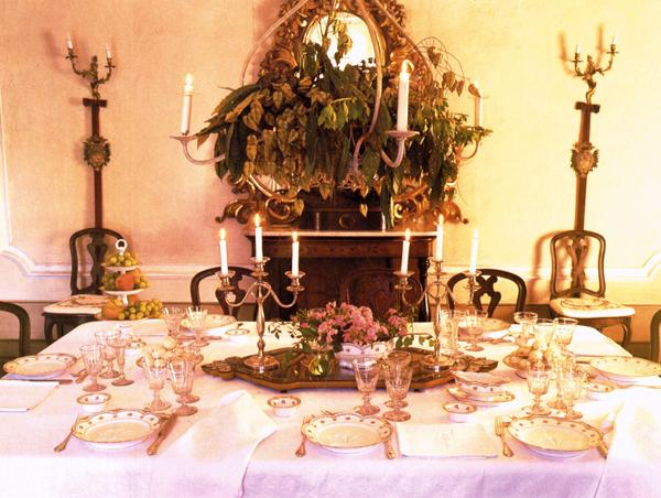 Castello di pralormo 09a camera da pranzo castello di pralormo - Camera da pranzo ...