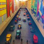 CASTELLO DI PRALORMO_11 TRENO Stanza 1 Gran boulevard futurista